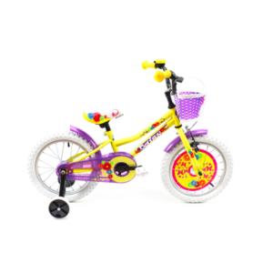 Bicicleta DHS 1602 Kids (2019) galben