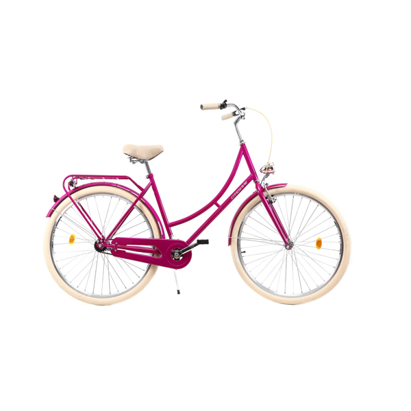 Bicicleta DHS Citadinne 2832 (2019) roz