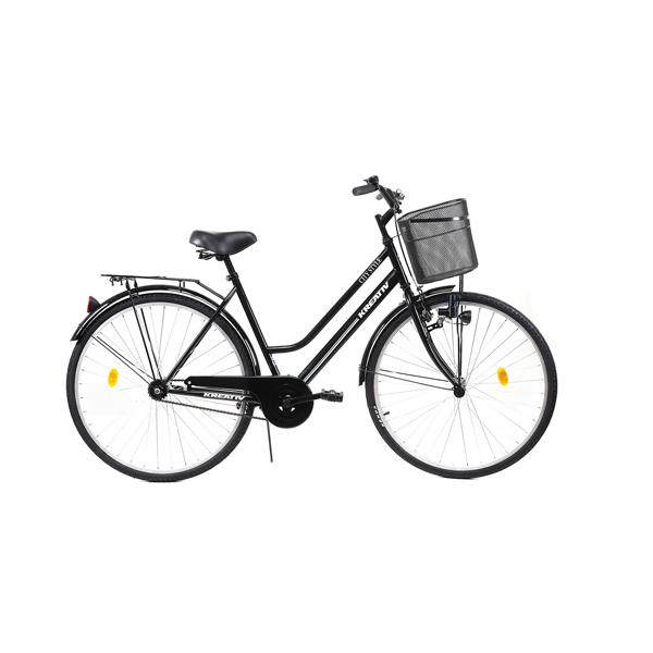 Bicicleta DHS Kreativ 2812 (2019) negru