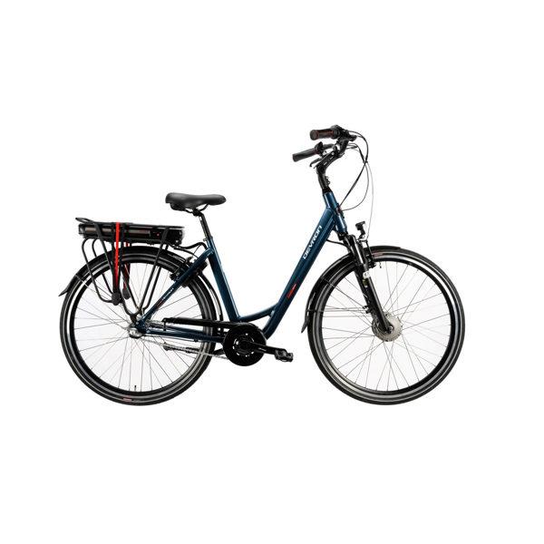Bicicleta electrica Devron 28124 (2019) albastru